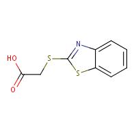 (1,3-benzothiazol-2-ylthio)acetic acid