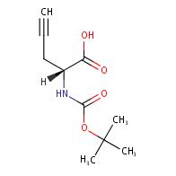 (R)-2-((tert-Butoxycarbonyl)amino)pent-4-ynoic acid