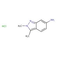 2,3-dimethyl-2H-indazol-6-amine hydrochloride