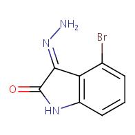 (E)-4-bromo-3-hydrazonoeindolin-2-one
