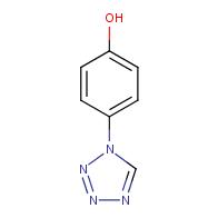 4-(1H-1,2,3,4-tetrazol-1-yl)phenol