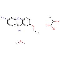 7-ethoxyacridine-3,9-diamine 2-hydroxypropanoate hydrate