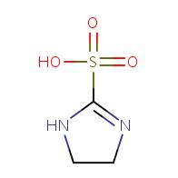 4,5-Dihydro-1H-imidazole-2-sulfonic acid