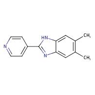 5,6-Dimethyl-2-(pyridin-4-yl)-1H-benzo[d]imidazole