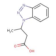 3-(1H-1,2,3-benzotriazol-1-yl)butanoic acid
