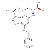 (2R,3S)-3-((9-Isopropyl-6-((pyridin-3-ylmethyl)amino)-9H- purin-2-yl)amino)pentan-2-ol