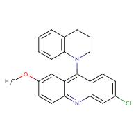 6-Chloro-9-(3,4-dihydroquinolin-1(2H)-yl)-2-methoxyacridine