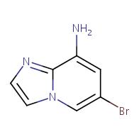 6-bromoimidazo[1,2-a]pyridin-8-amine