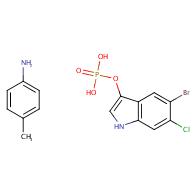 p-Toluidine 5-bromo-6-chloro-1H-indol-3-yl phosphate