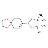 2-{1,4-dioxaspiro[4.5]dec-7-en-8-yl}-4,4,5,5-tetramethyl-1,3,2-dioxaborolane