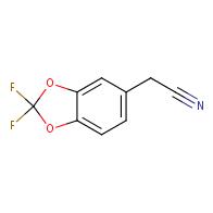2-(2,2-difluoro-2H-1,3-benzodioxol-5-yl)acetonitrile