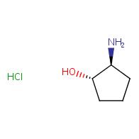 (1S,2S)-2-aminocyclopentan-1-ol hydrochloride