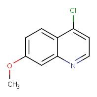 4-chloro-7-methoxyquinoline