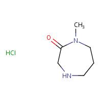1-methyl-1,4-diazepan-2-one hydrochloride