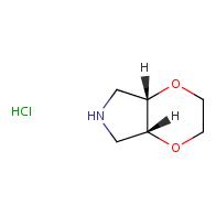 (4aR,7aS)-rel-hexahydro-2H-[1,4]dioxino[2,3-c]pyrrole hydrochloride