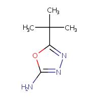 5-tert-butyl-1,3,4-oxadiazol-2-amine