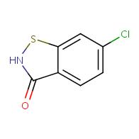 6-chlorobenzo[d]isothiazol-3(2H)-one