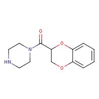 1-(2,3-dihydro-1,4-benzodioxin-2-ylcarbonyl)piperazine