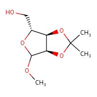[(3aR,4R,6aR)-6-methoxy-2,2-dimethyl-tetrahydro-2H-furo[3,4-d][1,3]dioxol-4-yl]methanol