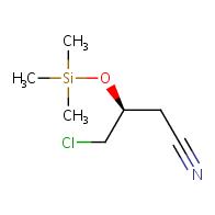 (3S)-4-chloro-3-trimethylsilyloxybutanenitrile