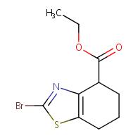 Ethyl 2-bromo-4,5,6,7-tetrahydrobenzo[d]thiazole-4-carboxylate