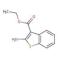 Ethyl 2-amino-1-benzothiophene-3-carboxylate