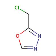 2-(chloromethyl)-1,3,4-oxadiazole