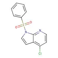 1-(benzenesulfonyl)-4-chloro-1H-pyrrolo[2,3-b]pyridine