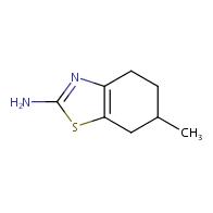 6-methyl-4,5,6,7-tetrahydro-1,3-benzothiazol-2-amine