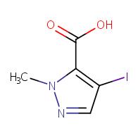 4-iodo-1-methyl-1H-pyrazole-5-carboxylic acid
