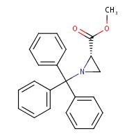 methyl (2s)‐1‐(triphenylmethyl)aziridine‐2‐carboxylate