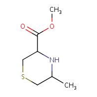 methyl 5-methylthiomorpholine-3-carboxylate