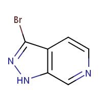3-bromo-1H-pyrazolo[3,4-c]pyridine