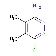 6-chloro-4,5-dimethylpyridazin-3-amine