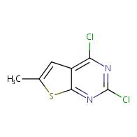 2,4-dichloro-6-methylthieno[2,3-d]pyrimidine