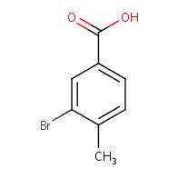 3-bromo-4-methylbenzoic acid