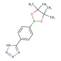 5-(4-(4,4,5,5-tetramethyl-1,3,2-dioxaborolan-2-yl)phenyl)-1H-tetrazole