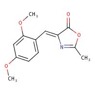 (Z)-4-(2,4-dimethoxybenzylidene)-2-methyloxazol-5(4H)-one