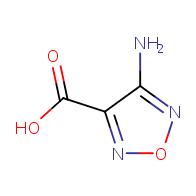 4-amino-1,2,5-oxadiazole-3-carboxylic acid