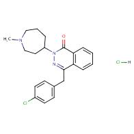 4-[(4-Chlorophenyl)methyl]-2-(1-methyl-4-azepanyl)phthalazin-1-one Hydrochloride