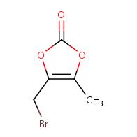 4-(bromomethyl)-5-methyl-1,3-dioxol-2-one