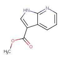 methyl 1H-pyrrolo[2,3-b]pyridine-3-carboxylate