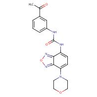 1-(3-Acetylphenyl)-3-(7-morpholinobenzo[c][1,2,5]oxadiazol-4-yl)urea
