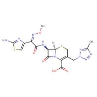 (6R,7R)-7-((Z)-2-(2-aminothiazol-4-yl)-2-(methoxyimino)acetamido)-3-((5-methyl-2H-tetrazol-2-yl)methyl)-8-oxo-5-thia-1-azabicyclo[4.2.0]oct-2-ene-2-carboxylic acid