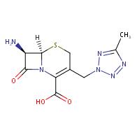 (6R,7R)-7-amino-3-((5-methyl-2H-tetrazol-2-yl)methyl)-8-oxo-5-thia-1-azabicyclo[4.2.0]oct-2-ene-2-carboxylic acid