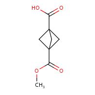 3-(methoxycarbonyl)bicyclo[1.1.1]pentane-1-carboxylic acid