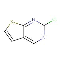 2-chlorothieno[2,3-d]pyrimidine