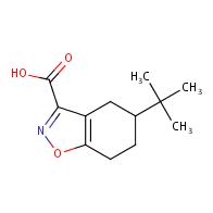 5-(tert-butyl)-4,5,6,7-tetrahydrobenzo[d]isoxazole-3-carboxylic acid