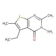 3-amino-5-ethyl-2,6-dimethylthieno[2,3-d]pyrimidin-4(3H)-one
