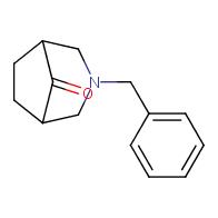 3-benzyl-3-azabicyclo[3.2.1]octan-8-one
